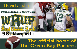 Listen to WRUP for all the Packers Action