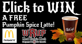 Enter to WIN a FREE Pumpkin Spice Latte from McDonald's and WRUP