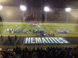 The Ishpeming Hematites defeat the Westwood Patriots 26-6 during Hematite Friday Night on Real Classic Rock 98.3 WRUP and WRUP.com.