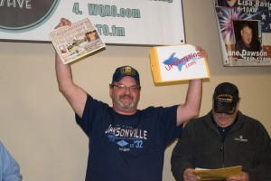Winner of the Great Lakes Radio $14,000 Ultimate Cave Giveaway Mike Kutchie or Champion, MI