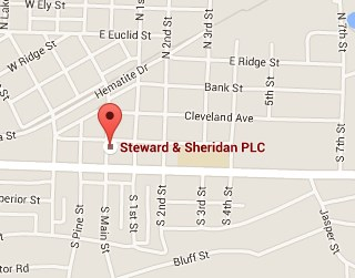 Steward & Sheridan PLC - 206 S. Main Street in Ishpeming Michigan