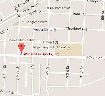 Wilderness Sports on Google Maps - Ishpeming MI - 49849