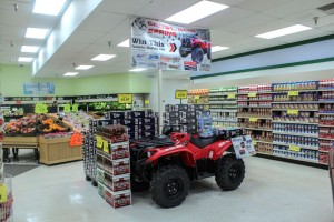 Have a look at the Kodiak ATV for yourself at SuperOne in Marquette now until the end of January!