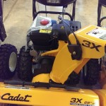 This Cub Cadet 3X three-stage blower will cut your snow removal time in half!