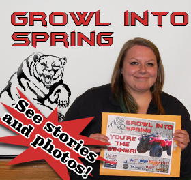Growl into Spring Giveaway Photos