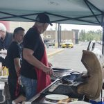 Bill grilling some great brats at Super One!