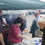 we had a great turn out for the Memorial Day Friday Fish Sale