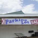 This Parking lot sale continues Saturday!