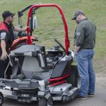 Andy was doing a great job explaining the features of this Altoz Mower