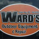 Ward's Outdoor Equipment and Repair is here with us until Saturday evening