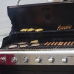 The grill is hot!