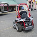 Driving around in the Super One Parking Lot with an Altoz Precision Mower