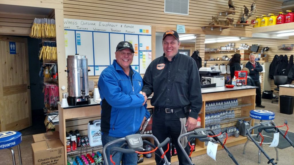 Major Discount with the owner of Ward's Outdoor Equipment and Repair