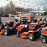 You can also pick from tons of different riding mowers at Ward's