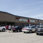 The parking lot was packed today at Tadych's Econo Foods