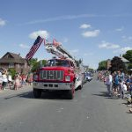 Ishpeming Fire Ladder Truck