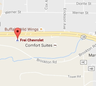 Find FREI Chevrolet with Google Maps