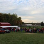 There was a very good turn out for the tailgate.
