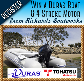Enter to win a 10 foot boat & 4 stroke motor