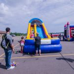 Double Trouble DJ's brought two large inflatables for kids to enjoy!