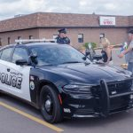 One of the local Marquette Police cars rolled in!