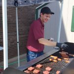 Grilling up free lunch for everyone!