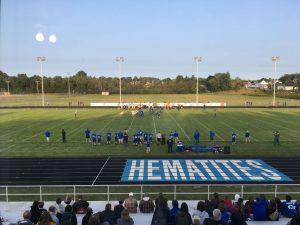 Ishpeming Hematite football first quarter action