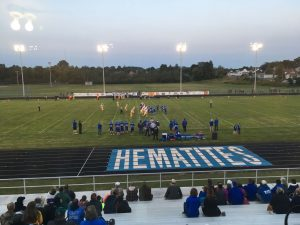 Ishpeming Hematite Football third quarter action VS Iron Mountain Mountaineers
