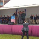 Mr. Dillman presented as U.P. Veteran of the Year