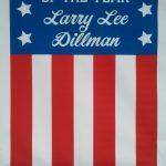 Congrats to local Negaunee vet, Larry Dillman.