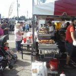 All the fair food smelled so good!
