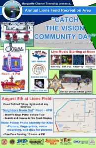 Marquette Township Community Day.