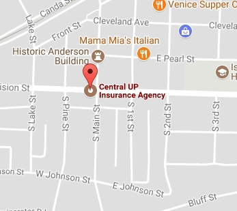 Visit Central U.P. Insurance Agency in Gwinn with Google Maps