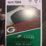 A ticket to the game!