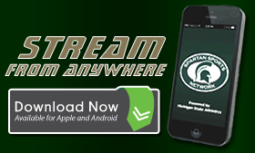 Stream Spartan Sports with the app!