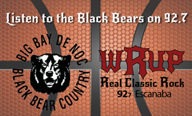 Follow the Black Bears on 92.7 WRUP