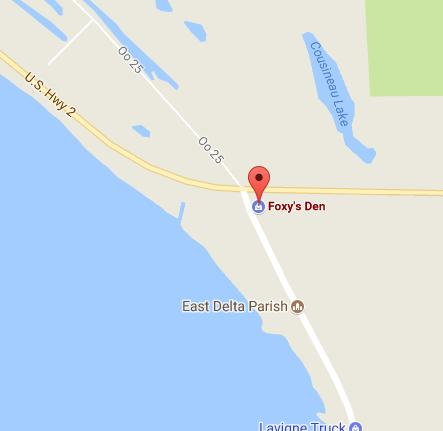 Visit Foxy's Den in Cooks, MI with Google Maps