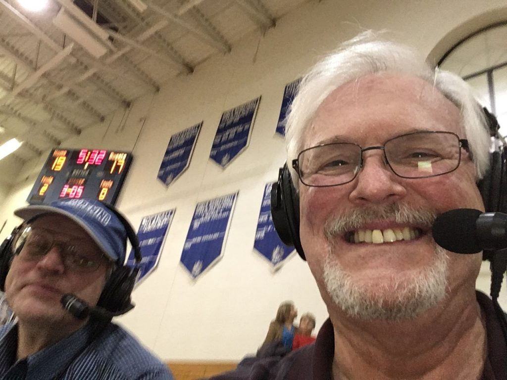 Mike and Bob get set to give you the call.