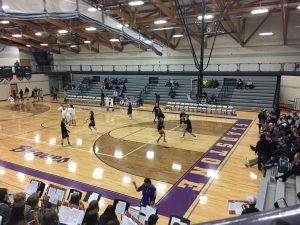 Ishpeming Girls Basketball warm up