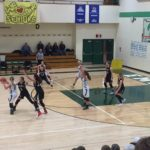 Big Bay de Noc Black bears Girls Basketball team defending