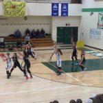 Big Bay de Noc Black bears Girls Basketball team defending
