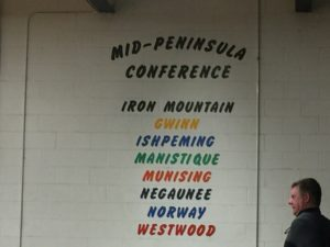 Mid-Peninsula conference alignment.