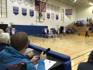 The Ishpeming Hematites defeated the Gladstone Braves 56-53 in Ishpeming