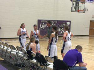 Purple Hornets Girls confer