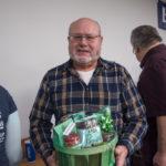 Jerri Villeneuve won a coffee & snack basket from Great Lakes Fresh Market.
