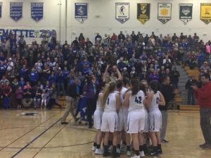 Ishpeming Hematites girls basketball vs westwood patriots district championship