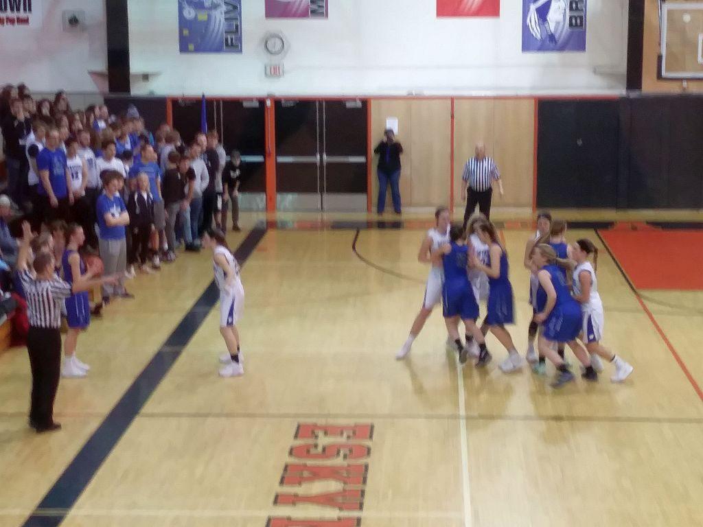 Ishpeming Hematites Girls Basketball VS West Iron County Wykons on 98.3 WRUP.