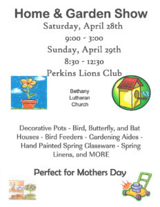 Stop by for the Home and Garden Show!