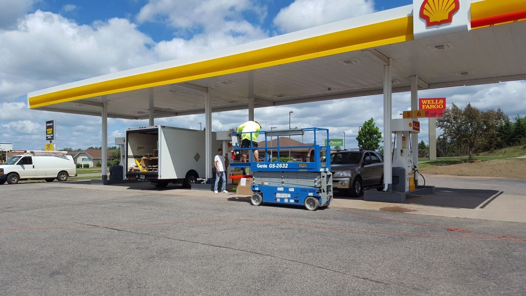 Stop by The New Shell Gas Station in Ishpeming's Country Village