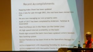 There have been a number of recent accomplishments for the Dead River Campers Inc.